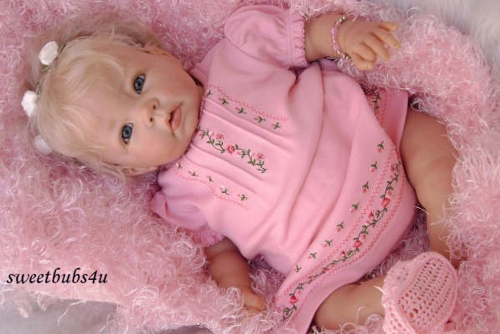 Luca Vinyl Reborn Doll Kit by Elly Knoops