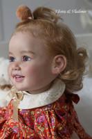 Cammi Reborn Vinyl Toddler Doll Kit by Ping Lau