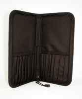 Silver Brush Tuscany Short Handle Deluxe Case for Brushes  9620-25-30 CHOOSE YOUR COLOR