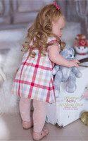 Betty Reborn Vinyl Doll Toddler Kit by Natali Blick
