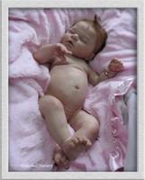 Indra Asleep Doll Kit by Reva Schick