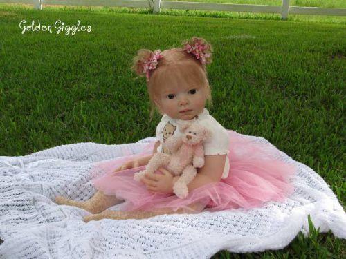 Leontyne Toddler Reborn Vinyl Doll Kit by Danielle Zweers