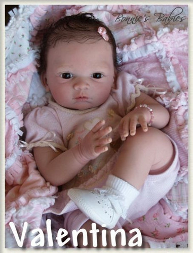 Valentina Reborn Doll Kit by Gudrun Legler