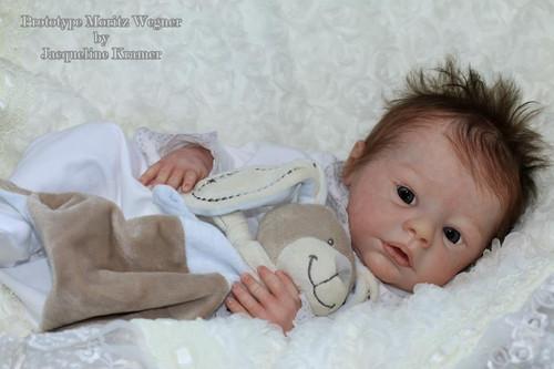 Moritz Vinyl Doll Kit by Sabine Wegner