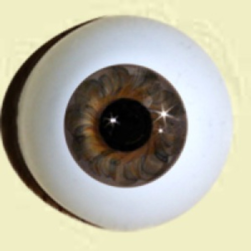 German Glass Eyes: Full Round Hazel