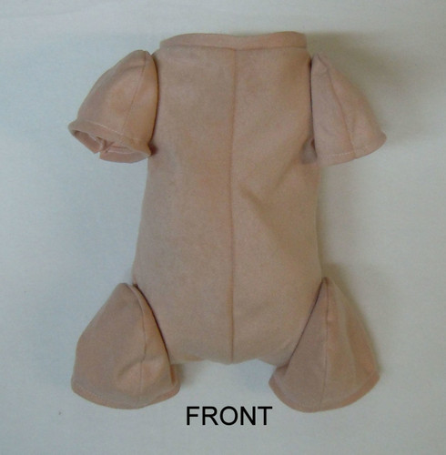 "Doe Suede Body for 10"" Dolls 3/4 Jointed Arms 3/4 Jointed Legs #1222"