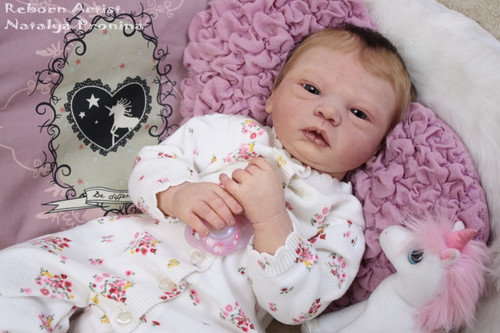 Celine Reborn Vinyl Doll Kit by Evelina Wosnjuk