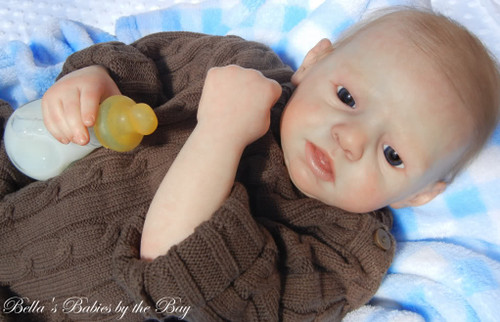 Lex Reborn Vinyl Doll Kit by Natali Blick