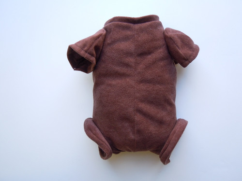 """Doe Suede Ethnic Body for 22-24"""" Dolls 3/4 Jointed Arms Full Jointed Legs #510E"""