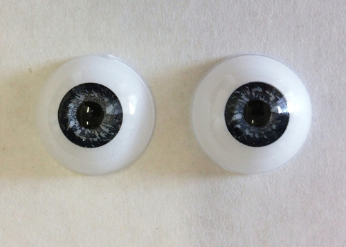 Acrylic Blue 24mm Eyes