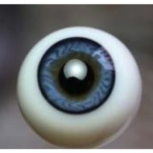 German Glass Eyes: Full Round Blue #58