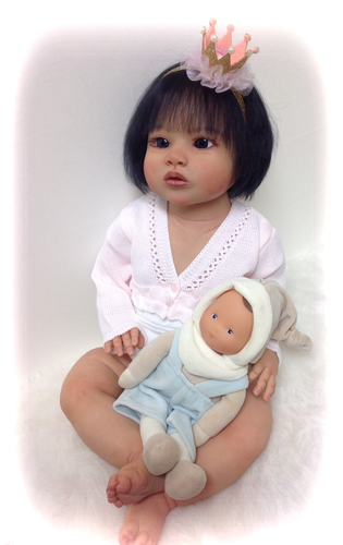 Elena Reborn Toddler Vinyl Doll Kit by Regina Swialkowski