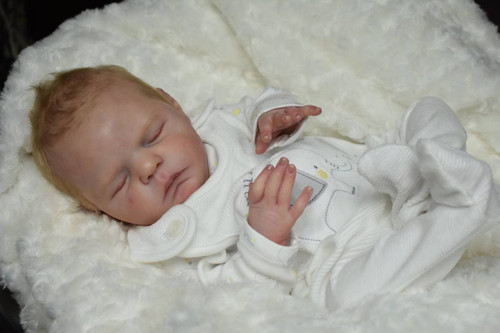 Xander Reborn Doll Kit by Cassie Brace