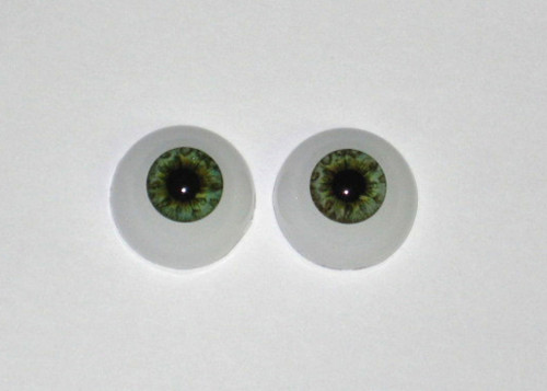 Acrylic Real Eyes in Ocean Green