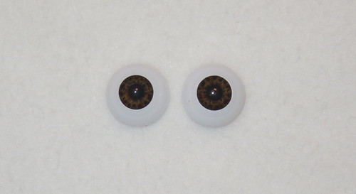 Acrylic Real Eyes in Chocolate Brown