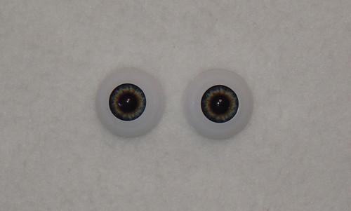 Acrylic Real Eyes in Dark Blue Dusk