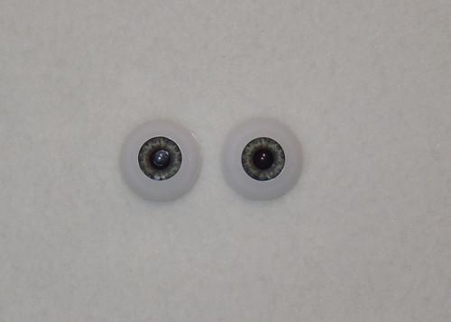 Acrylic Real Eyes in Medium Blue Gray