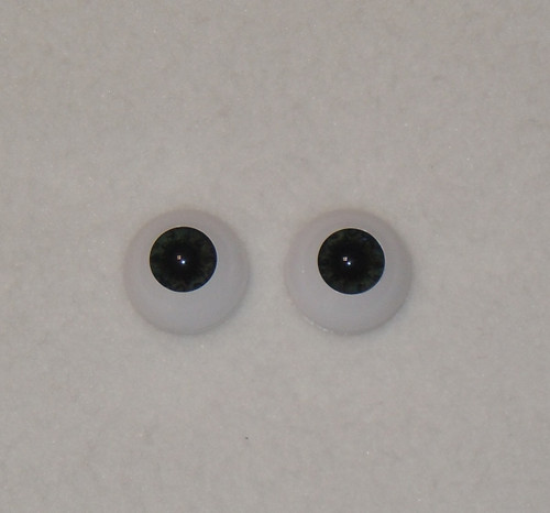 Acrylic Real Eyes in Newborn Ultra Dark-Black-Blue-Gray