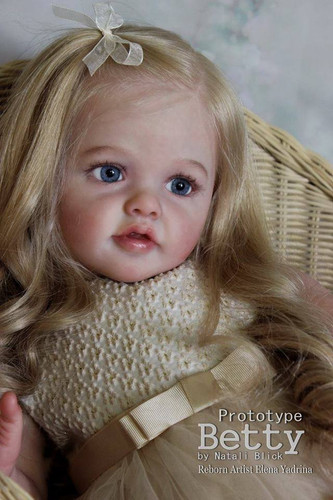 Betty Reborn Doll Toddler Kit by Natali Blick