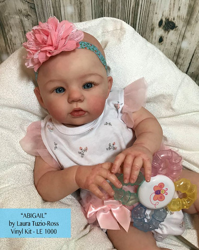 Abigail Vinyl Doll Kit by Laura Tuzio Ross