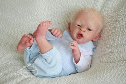 Lil Yawn Reborn Doll Kit by Philomena Donnelly