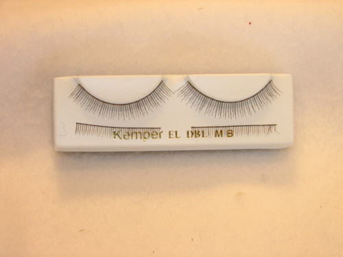 Double Eyelashes in Dark Brown - 32mm