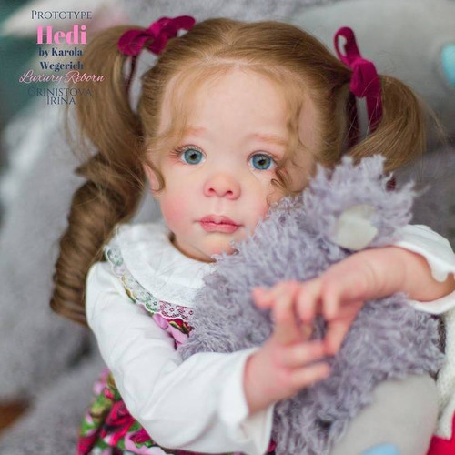 Hedi Standing Toddler Reborn Doll Kit by Karola Wegerich