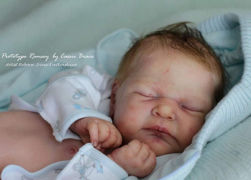 Ramsey Reborn Vinyl Doll Kit by Cassie Brace