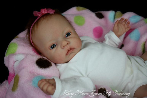 Huggy Bear Vinyl Reborn Doll Kit by Dianna Effner