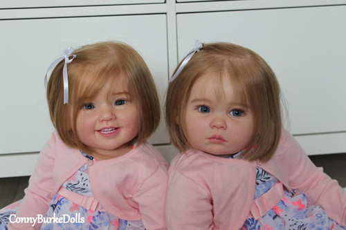 Cammi & Julieta Reborn Doll Kit Set of 2 by Ping Lau