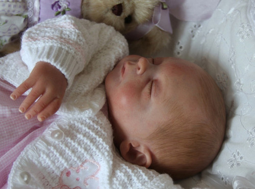 Faith Reborn Vinyl Doll Kit by Heather Boneham
