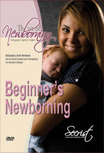 The Art of Newborning DVD Spanish, Portuguese & English Edition