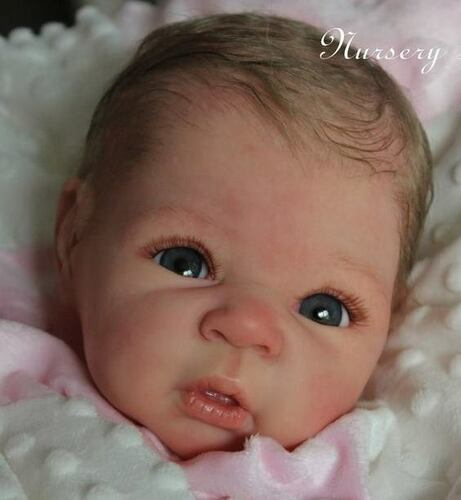 Carmen Reborn Vinyl Doll Head by Adrie Stoete  Mix & Match