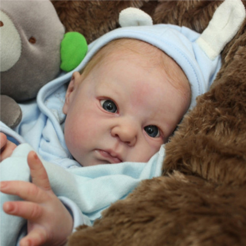 Dimitri Reborn Vinyl Doll Head by Adrie Stoete  Mix & Match