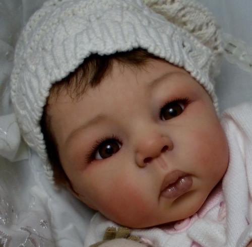 Suukyi Reborn Vinyl Doll Head by Adrie Stoete  Mix & Match