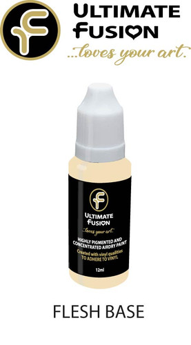 Ultimate Fusion All in One Air Dry Paint Flesh Base  12ml Bottle
