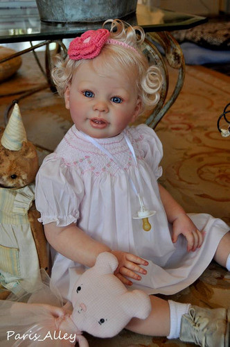 Katie Marie Toddler Reborn Vinyl Doll Kit by Anne Timmerman