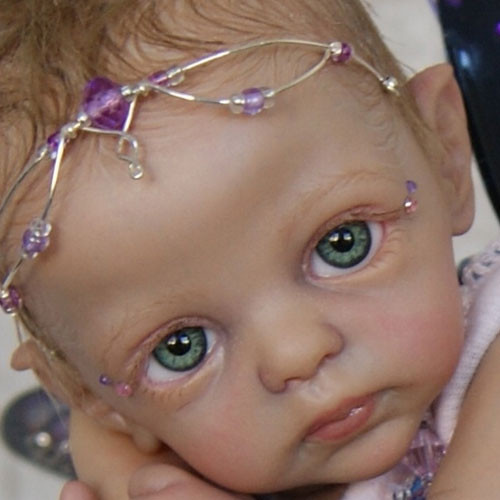 Petunia Tiny Micro-Preemie Fairy Kit by Marita Winters