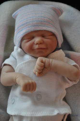 Zane Mini Reborn Vinyl Doll Kit by Marita Winters