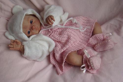 Vivien Vinyl Doll Kit by Evelina Wosnjuk