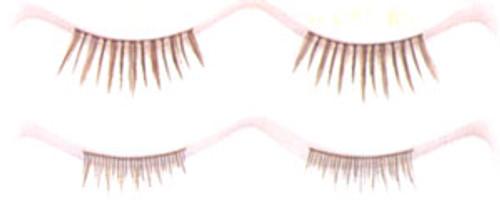 Double Eyelashes in Medium Brown