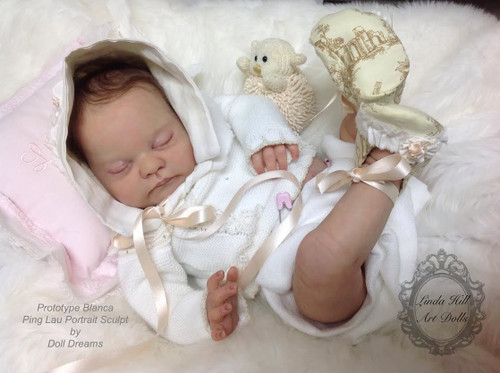 Blanca Reborn Doll Kit by Ping Lau