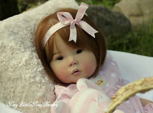 Kana Vinyl Doll Kit by Ping Lau
