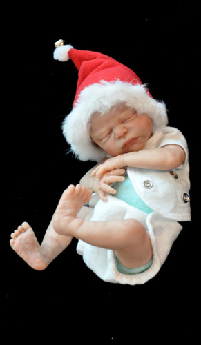 Zachy Mini Reborn Vinyl Doll Kit by Marita Winters