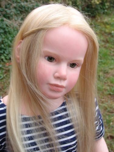 Gabriella Life Sized Vinyl Doll Kit by Reva Schick
