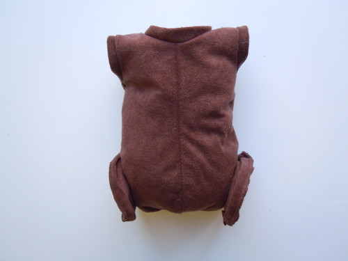 "Doe Suede Ethnic Body for 17-18"" Dolls Full Unjointed Arms Full Jointed Legs #1400E"