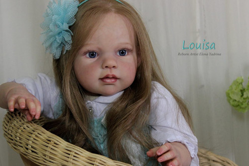 Louisa Reborn Doll Kit by Jannie De Lange