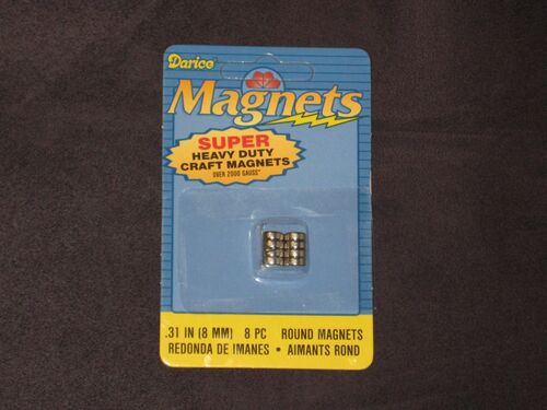 Super Heavy-Duty Craft Magnets