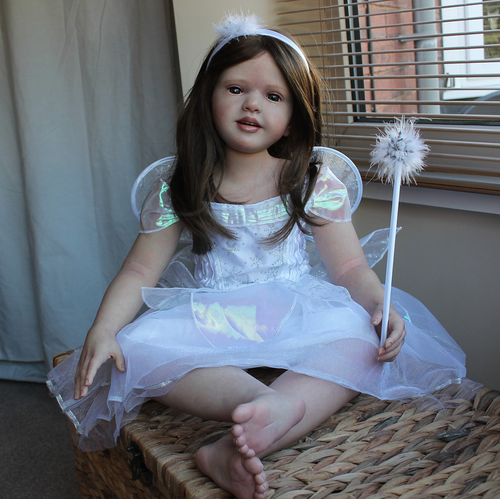 Nicole Reborn Vinyl Toddler Doll Kit by Natali Blick
