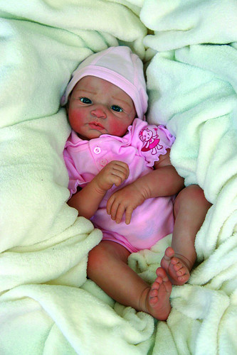 Nina Vinyl Reborn Doll Kit by Gudrun Legler